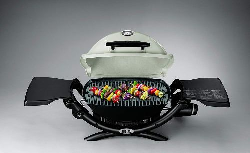Gas grill for camping