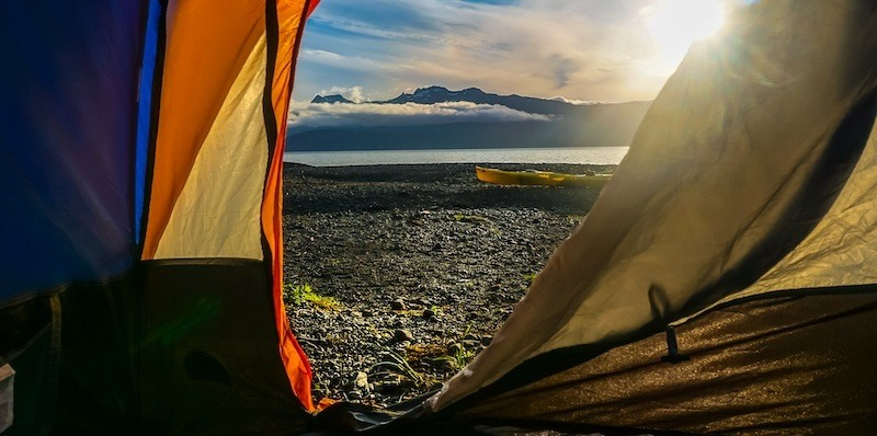 Kayak camping tips