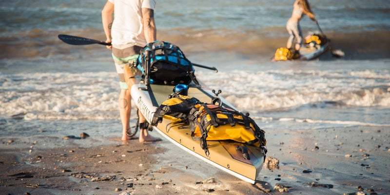 best kayak deck bag